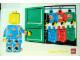 Gear No: pfstk08  Name: Sticker, Paul Frank - Minifigure Looking through Closet
