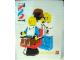 Gear No: pfstk09  Name: Sticker, Paul Frank - Minifigures at Barber Shop