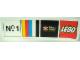 Gear No: pfstk10  Name: Sticker, Paul Frank - 'No.1' , Classic Colors, Julius and Friends Logo, Lego Logo