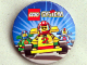 Gear No: pin018  Name: Pin, LEGO System with 3 Slick Racers