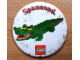 Gear No: pin033  Name: Pin, Animal Series - Spannend. and Alligator / Crocodile