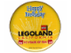 Gear No: pin049  Name: Pin, Legoland California Happy Birthday 10 Years of Fun