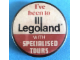 Gear No: pin052  Name: Pin, I've been to Legoland with Specialised Tours