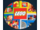 Gear No: pin054  Name: Pin, Lego Logo with Background Images