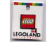 Gear No: pin083  Name: Pin, Lego Logo Square Red