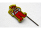 Gear No: pin087  Name: Pin, Lego Man, Yellow Border