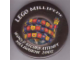 Gear No: pin088  Name: Pin, Lego Millipede world record attempt Melbourne 2002 Badge