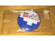 Gear No: pin124  Name: Pin, LEGO club Blue Bricks Pattern