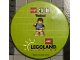 Gear No: pin171  Name: Pin, Lego Club Weekend Legoland Florida