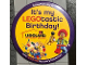 Gear No: pin181  Name: Pin, It's my LEGOtastic Birthday!