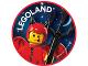 Gear No: pin215  Name: Pin, Legoland Devil Costume Boy 2 Piece Badge