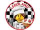 Gear No: pin218  Name: Pin, Legoland Baker 2 Piece Badge