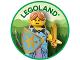 Gear No: pin219  Name: Pin, Legoland Elf Princess 2 Piece Badge