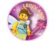 Gear No: pin220  Name: Pin, Legoland Fairy 2 Piece Badge
