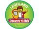 Gear No: pin222  Name: Pin, Legoland Reserve N Ride 2 Piece Badge