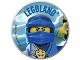 Gear No: pin231  Name: Pin, Legoland Ninjago Jay 2 Piece Badge