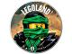 Gear No: pin232  Name: Pin, Legoland Ninjago Lloyd 2 Piece Badge