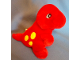 Gear No: plush12  Name: Dinosaur Baby Plush with Yellow Spots