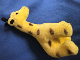 Gear No: plush26  Name: Giraffe Plush with Brown Spots and Black Horns and Ears