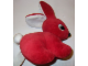 Gear No: plushrabbit1  Name: Duplo Bunny / Rabbit Small - White Ear Inside, Pupils Near Nose