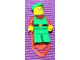 Gear No: pocketforestman  Name: Pin, Forestman Minifigure, Pocket Clip