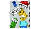 Gear No: poststamp01  Name: LEGO Stamp 2015 Denmark Europa