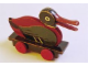Gear No: pullduck  Name: Wooden Pull-Along Duck with Long Bill