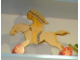 Gear No: pullhorse1  Name: Wooden Pull-Along Horse with Indian