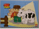 Gear No: puzdup01  Name: Duplo Puzzle with Farmer and Cow