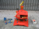 Gear No: redbase  Name: Display Assembled Model, Red Space Base with Classic Space Ships (Glued)