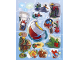 Gear No: s18ctys01  Name: Sticker, LEGO City Advent book 2018, sheet 1