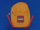 Gear No: satchel2  Name: Backpack Solid Color with LEGO Logo