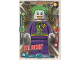 Gear No: sh1de055  Name: Batman Trading Card Game (German) Series 1 - # 55 The Joker Card