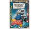 Gear No: sh1de129  Name: Batman Trading Card Game (German) Series 1 - #129 Mighty Micros Captain Cold Card