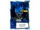 Gear No: sh1de136  Name: Batman Trading Card Game (German) Series 1 - # 136 Bat-Signal Card