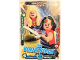Gear No: sh1en024  Name: Batman Trading Card Game (English) Series 1 - # 24 Team Wonder Woman Card