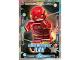 Gear No: sh1fr112  Name: Batman Trading Card Game (French) Série 1 - #112 La Ligue des Justiciers Flash