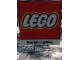 Gear No: shellsign2  Name: Display Sign LEGO Logo Exterior with ground stakes (used during 2000 Shell promo)