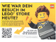 Gear No: surveystorede  Name: Wie war Dein Besuch im LEGO Store heute?