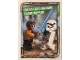 Gear No: sw1de195  Name: Star Wars Trading Card Game (German) Series 1 - #195 Finn vs Erste Ordnung Sturmtruppler Card