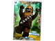 Gear No: sw2en016  Name: Star Wars Trading Card Game (English) Series 2 - #16 Fierce Chewbacca Card