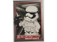 Gear No: swtc015  Name: Frist Order Trooper Star Wars Trading Card