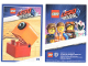 Gear No: tc19tlm09  Name: The LEGO Movie 2, Card #09 - Duplo Alien