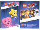 Gear No: tc19tlm21  Name: The LEGO Movie 2, Card #21 - Heart and Star