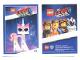 Gear No: tc19tlm25  Name: The LEGO Movie 2, Card #25 - Unikitty as Disco Kitty