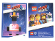 Gear No: tc19tlm26  Name: The LEGO Movie 2, Card #26 - Zebe