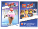 Gear No: tc19tlm32  Name: The LEGO Movie 2, Card #32 - Ice Cream Cone