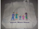 Gear No: tote03  Name: Tote Bag, Friends Willkommen - Welcome - Bienvenue Pattern