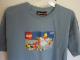Gear No: tsdrummer  Name: T-Shirt, Paul Frank Men's Julius & Friends LEGO Drummer and Crowd Surfer Minifigures