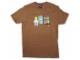 Gear No: tsmorning  Name: T-Shirt, Paul Frank Men's Julius & Friends LEGO Morning Time